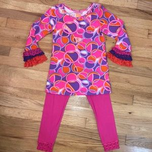 havengirl two piece outfit girls size 6x